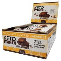 Chocolate Caramel Fat Bombs - Keto Wise - LCHF