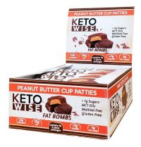 Keto Wise Peanut Butter Patties Fat Bombs
