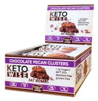 Keto Wise Pecan Cluster Fat Bombs